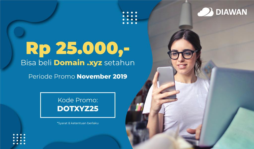 Promo Domain XYZ